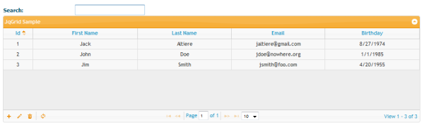 Jack Altiere » Blog Archive » jQuery Grid Data with jqGrid
